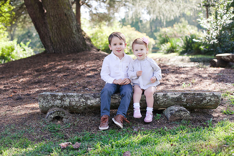 Brother and Sister Photo Session with Kelli C Photography in Tryon NC