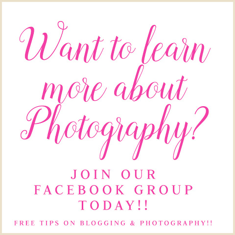 New Photographers and Bloggers Facebook Community